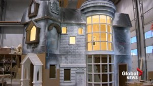 Life-sized, 400-sq. ft. Harry Potter playhouse takes shape in Lethbridge