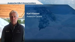 Avalanche Canada official comments on weather leading up to avalanche