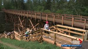 Mill Creek Ravine bridges reopen ahead of schedule and on budget