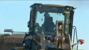 Red Deer rampage leaves suspect dead