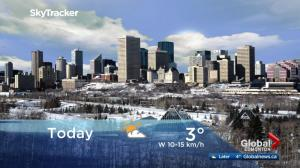 Edmonton early morning weather forecast: Wednesday, December 6, 2017