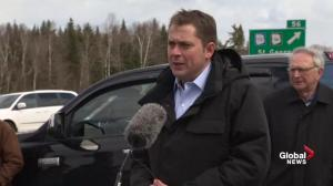 Andrew Scheer says Conservative climate plan to be unveiled before election