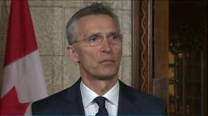 NATO chief talks about how to deal with Russia aggression