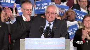 Bernie Sanders wins New Hampshire primary, talks childhood, political revolution