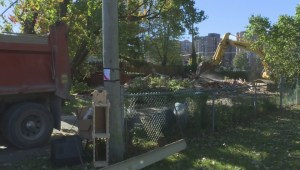 Quebec floods: Pierrefonds home torn down