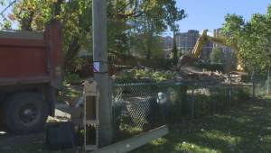 Quebec floods: Pierrefonds home torn down
