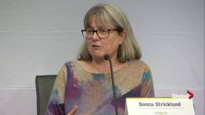 'We should all do what we're really good at': Donna Strickland reacts to winning Nobel prize