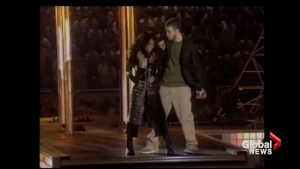 From the Global archives: Janet Jackson 'wardrobe malfunction' causes stir at Super Bowl halftime