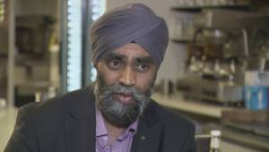 The Ministers: Harjit Sajjan on pulling out CF-18s and being in the military under Harper