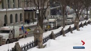 Pro-pipeline convoy's second day in Ottawa