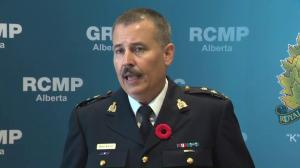 RCMP speak about suspect in Sherwood Park explosion