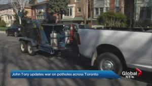 Toronto crews set to work extended hours to solve pothole problem