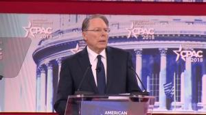 NRA CEO Wayne LaPierre: 'Their laws' won't help to prevent shootings