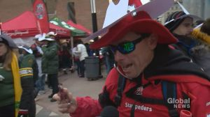 Fans from across Canada come out to celebrate Grey Cup
