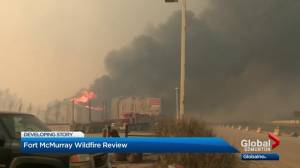Report criticizes Fort McMurray wildfire response