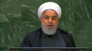Iran's Rouhani says country wants no sanctions or bullying