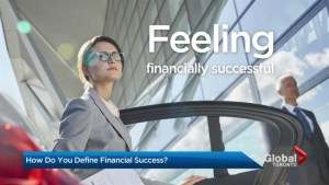How do you define financial success?
