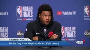 Kyle Lowry talks about his relationship with teammate Kawhi Leonard