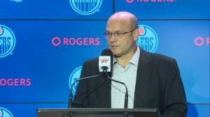 Edmonton Oilers GM speaks to performance of Puljujarvi, Slepyshev, Caggiula