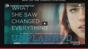 Controversial movie 'Unplanned' sparks protests
