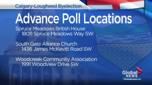 Advance polls start in Calgary-Lougheed byelection