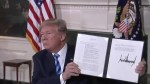Trump withdraws U.S. from Iran nuclear deal