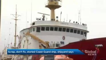Storied Coast Guard ship can't be fixed, shipyard says, highlighting