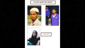 Sri Lanka police release pictures of Easter attack suspects