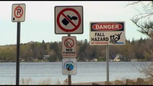 Peterborough County addresses litter issue on James Gifford causeway