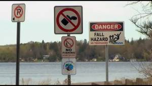 Peterborough County addresses litter issue on James Gifford causeway (01:34)