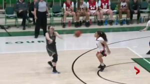 Saskatchewan Huskies women's basketball in Canada West final