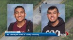 Two Surrey teenagers killed in targeted shooting