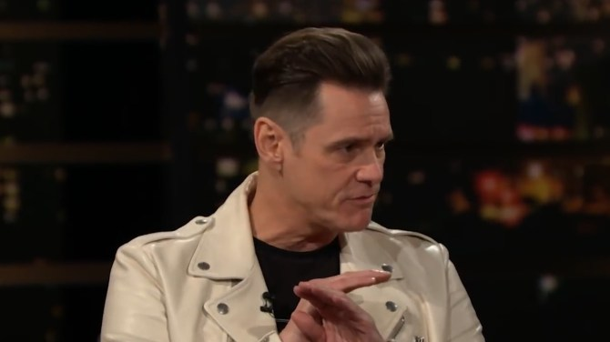 Jim Carrey educates Americans on Canadian health care in 'Real Time' rant