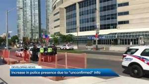 Toronto Police increase patrol around CN Tower following reports of 'potential threat'