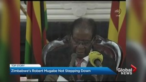 Zimbabwe's Robert Mugabe not stepping down