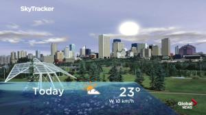 Edmonton early morning weather forecast: Monday, August 20, 2018