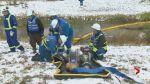Emergency response training exercise by TransCanada