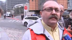 Spokesperson for Brussels' firefighters says attacks are the worst thing he's seen in his 40 year career