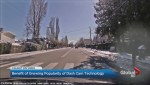 Pedestrian close call caught on dash camera
