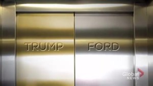 Tale of two elevators: The unlikely rise to power of Rob Ford, Donald Trump