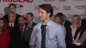 Trudeau says he will 'never use western resources to buy eastern votes'