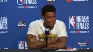 NBA Finals: Kyle Lowry says 'words can't explain' how he feels