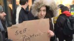 Protesters square off against supporters of controversial Toronto restaurant