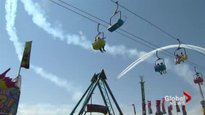 Summer's unofficial end see Torontonians at the CNE