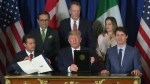Canada, U.S., Mexico sign CUSMA, aka new NAFTA deal