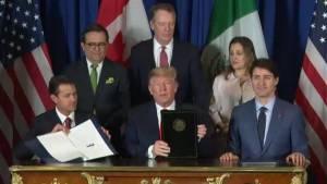 Canada, U.S., Mexico sign CUSMA, aka new NAFTA deal