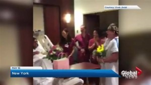 Canadian woman in labour officiates New York hospital wedding