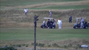 1118cad52a45e Donald Trump visits Scotland ahead of high-stakes talks with ...