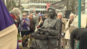 Monument honouring women volunteers during Second World War unveiled