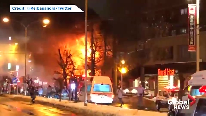 Japan explosion: dozens injured as blast destroys Sapporo restaurant